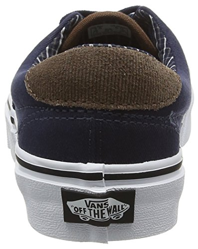 Vans Era 59, Baskets Basses Mixte Adulte Bleu (cord & Plaid)