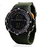 Ejército Militar Zonman multi-función hora impermeable y a prueba de golpes glicerolcinasa reloj electrónico
