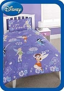Disney Faires léger et lumineux lit pour une housse de couette et taie