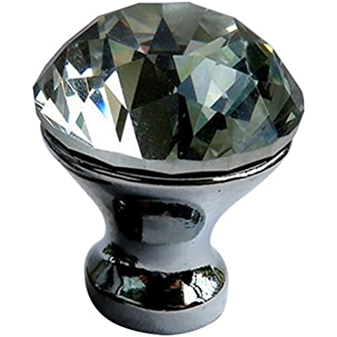 HR cristallo acrilico vetro della porta manopole cassetto dell'armadio da