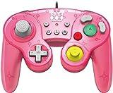 HORI Nintendo Switch Battle Pad (Peach) Controller im GameCube-Stil [ ]