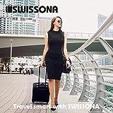 SWISSONA Premium Regenschirm, leicht, winddicht, rostfrei in schwarz | 2 Jahre Zufriedenheitsgarantie | Taschenschirm, Reise-Regenschirm, Outdoor-Regenschirm - 8