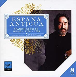 Espana Antigua : Spanish Secular Music (Coffret 8 CD)
