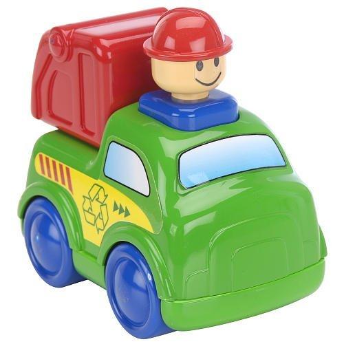 Bruin Press 'n Go Vehicle - Garbage Truck by Babies R Us