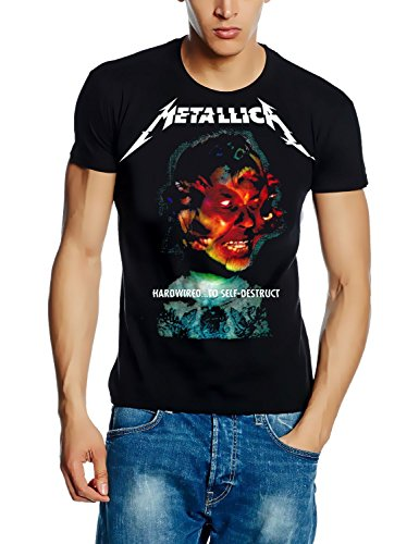 METALLICA T-Shirt HARDWIRED...TO SELF-DESTRUCT Cover Album Shirt, Schwarz, GR.M -