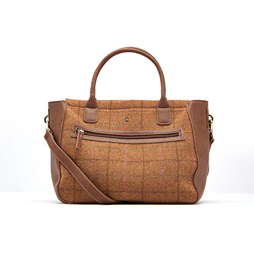 Tom Joule Joules Day to Day Tweed Damen Handtasche Beige Beige