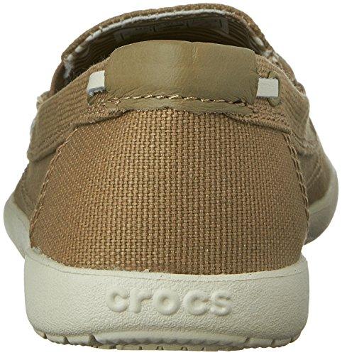 Crocs, Mocassini donna Khaki/Stucco