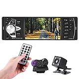 Qiilu 4.1 Pollici Universale TFT HD Bluetooth Handsfree Schermo Digitale MP5 Player Multimedia BT USB/TF FM Aux Comando a Distanza del Volante (con Camara)(Con fotocamera)