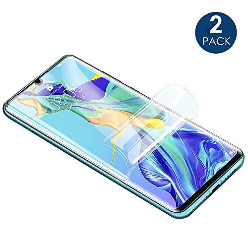 Simpeak Ersatz für Huawei P30 Pro Schutzfolie [2 Stück], Premium Displayschutzfolie Screen Protector für Huawei P30 Pro [Anti-Kratzen] [Anti-Öl] [Anti-Fingerprint] Premium Screen Protector