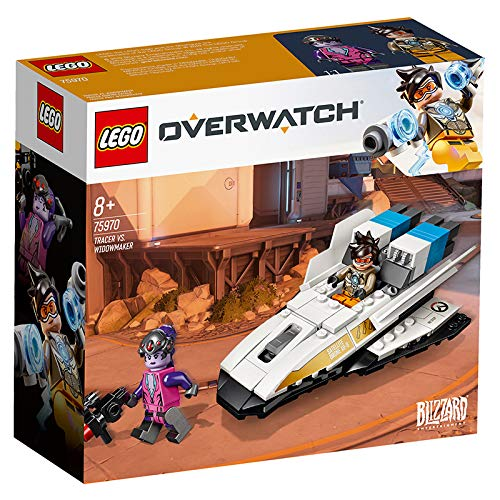 LEGO 75970 Overwatch Tracer and Widowmaker Building Kit, Multicolour Best Price and Cheapest