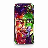 Fußball Apple iPhone 5c,Telefonkasten Für Cell Apple iPhone 5c Super Plastik Telefonkasten Case,FC Neymar Cover Apple iPhone 5c Telefonkasten