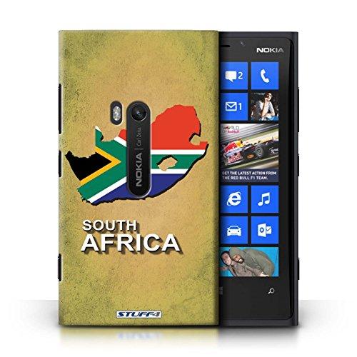 Kobalt® Imprimé Etui / Coque pour Nokia Lumia 920 / nouvelle Zélande conception / Série Drapeau Pays Afrique du Sud/Afrique
