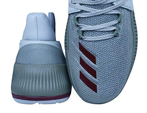 Adidas D Lillard 3 Pearl Grey / Collegiate Burgundy / Trace Cargo
