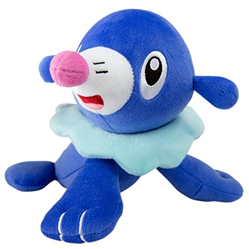Pokemon Popplio 8 Inch Plush Toy - Looking Right Pose
