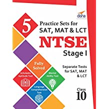 5 Practice Sets for SAT, MAT & LCT - NTSE Stage 1