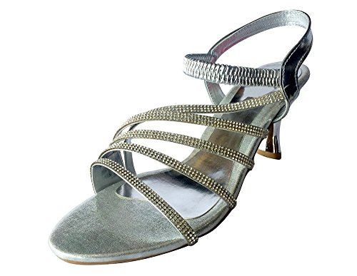 Étape N Style Chaussures de mariage Parti Chaussures pour Femme Chaussures ethnique indien saree juttis mojari silver