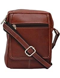 Sk Trader Unisex Sling Bag (Brown, JT-2064_Brown)