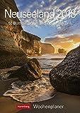 Neuseeland - Kalender 2018: Wochenplaner, 53 Blatt mit Zitaten und Wochenchronik