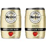 2 fusti da 5 Litri di birra WARSTEINER