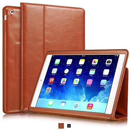 Pow Leder (KAVAJ iPad Air Ledertasche Case Hülle