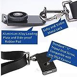 iHaospace Kameragurt Schultergurt Schnellverschluss Kamera Tragegurt Schultergurt für Canon Nikon Sony Fujifilm Olympus DSLR SLR - Schwarz Vergleich