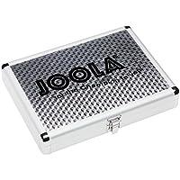 Joola - Maletín para palas de ping pong y pelotas (aluminio) plata