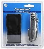 Silverline 380556 Taschenmesser mit 19 Funktionen 89 mm