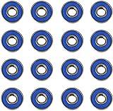ViVo © 16 Frictionless ABEC 9 Skateboard Roller Skate Wheels Scooter Spare Bearings NEW Sealed