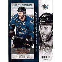 2013 / 14 Playoff Contenders Hockey Card # 8 Joe Thornton San Jose Sharks