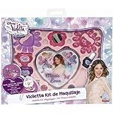 Violetta - Kit de maquillaje, multicolor (Simba 5561239)