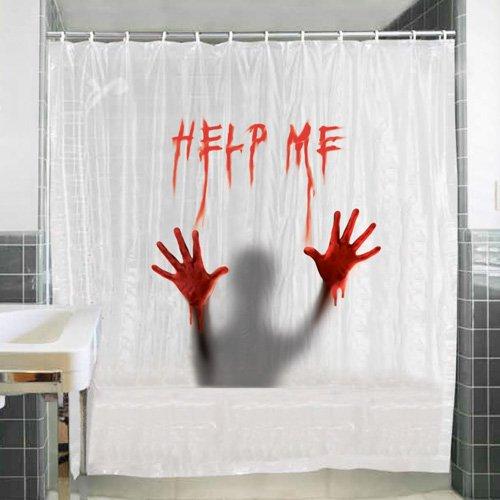 lustige duschvorh nge witzige motive ausgefallenes f r. Black Bedroom Furniture Sets. Home Design Ideas