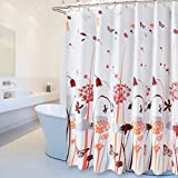 JUHYBG Duschvorhang Polyester Wasserdichtes Gehäuse Moldy Thick Multi-Size Optional Hochwertiger Duschvorhang (Breite * Höhe) (Größe : 300cm*200cm)