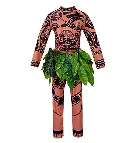 Tattoo T Shirt/Hose Halloween Erwachsene Herren Frauen Cosplay Kostüm (Größe XXL) ()
