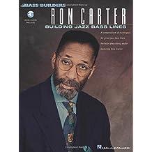 Ron Carter Building Jazz Bass Lines Db Book/Cd