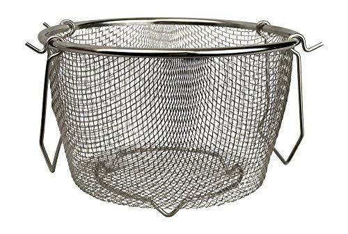 Instant Pot kompatibel Edelstahl Steamer Siebkorb Niete passt instapot 6QT, 8QT und andere Druck cookers- für Gemüse, Eier, Nudeln, Lager, Brühe &/von modern Essentials & Co - Nudeln Und Gemüse Dampfer