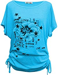 86e2fc07086dfd Emma & Giovanni - T-Shirt/Top para El Verano - Donna
