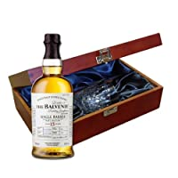 Balvenie Single Barrel 15 YO In Luxury Box With Royal Scot Glass by Drinxcom