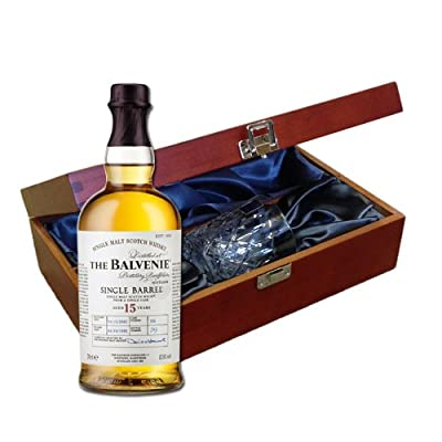 Balvenie Single Barrel 15 YO In Luxury Box With Royal Scot Glass