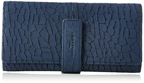 Liebeskind Berlin Damen Leonie Earth Geldbörsen, Blau (Geishas Night Blue 5952), 11x19x2 cm