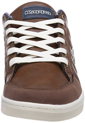 Kappa  ROOSTER Footwear men, Baskets pour homme Marron (5067 Brown/navy)