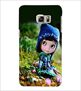 PrintDhaba Cute Doll D-1026 Back Case Cover for SAMSUNG GALAXY NOTE 5 (Multi-Coloured)