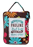 H & H Handy Top Lass Tote Bag / Shopper Bag / Shopping Bag - Personalised to The Name of Pauline