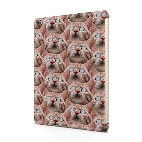 ginger-cat-diamond-eyes-dope-rich-high-life-plastic-snap-on-protective-case-cover-for-ipad-air-1