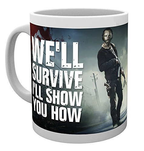 GB Eye, The Walking Dead, Guns, Taza