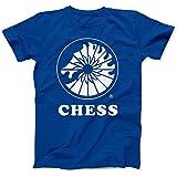 Photo de Bees Knees Tees - T-shirt - Homme * -  Bleu - Medium par Bees Knees Tees