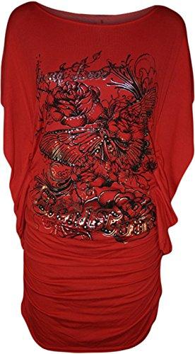 Comfiestyle - Haut de pyjama - Femme red