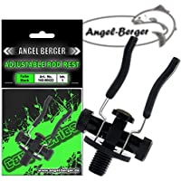 Angel Berger Black Adjustable Rod Rest