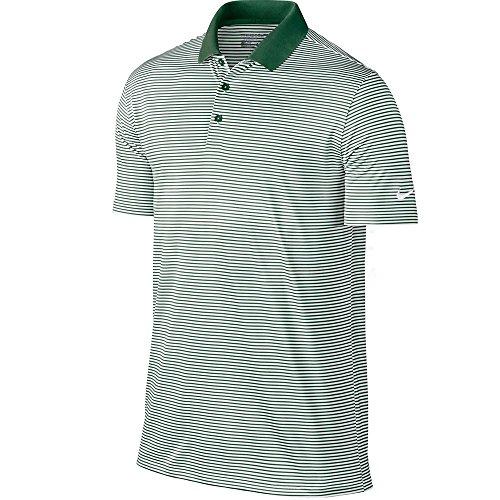 Nike Victory mini Stripe Polos George Green/White