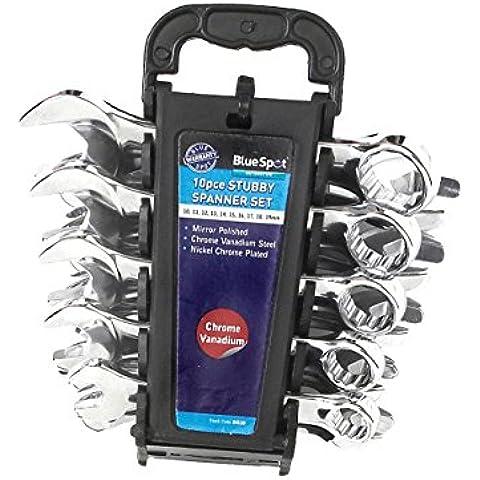 Blue Spot Tools 4110 - Juego de llaves combinadas (tamaño: not_applicable, pack de 10)