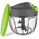 Home Puff H12 0.65-Liter Chopper with Storage Lid (Green)